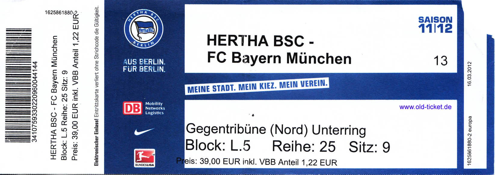 hoffenheim hertha tickets